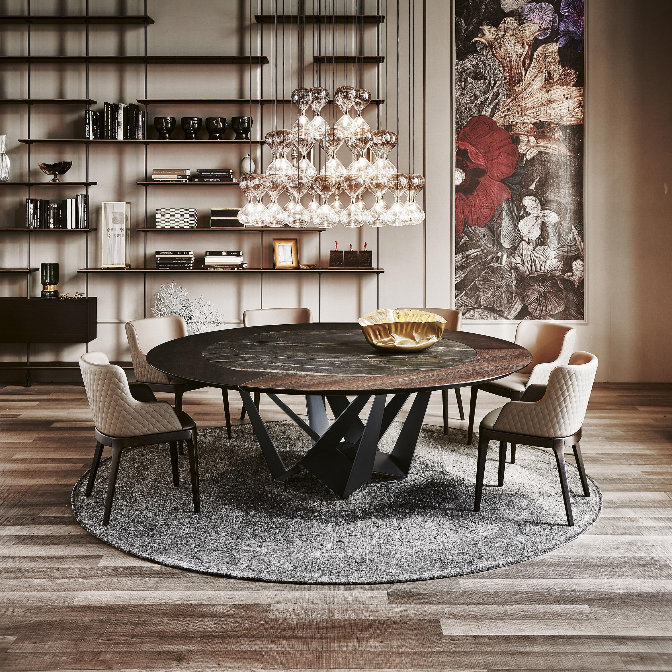 The Skorpio Ker-wood dining table