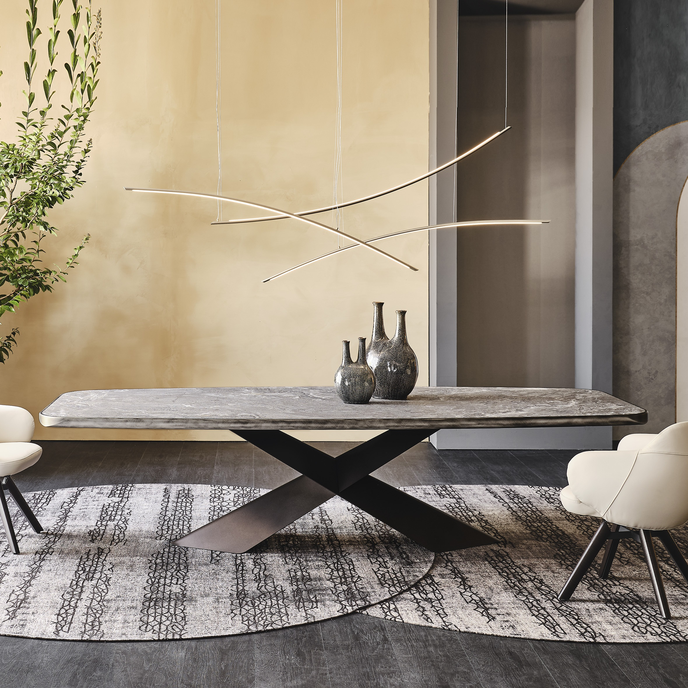 Cattelan Italia Tyron Dining Table
