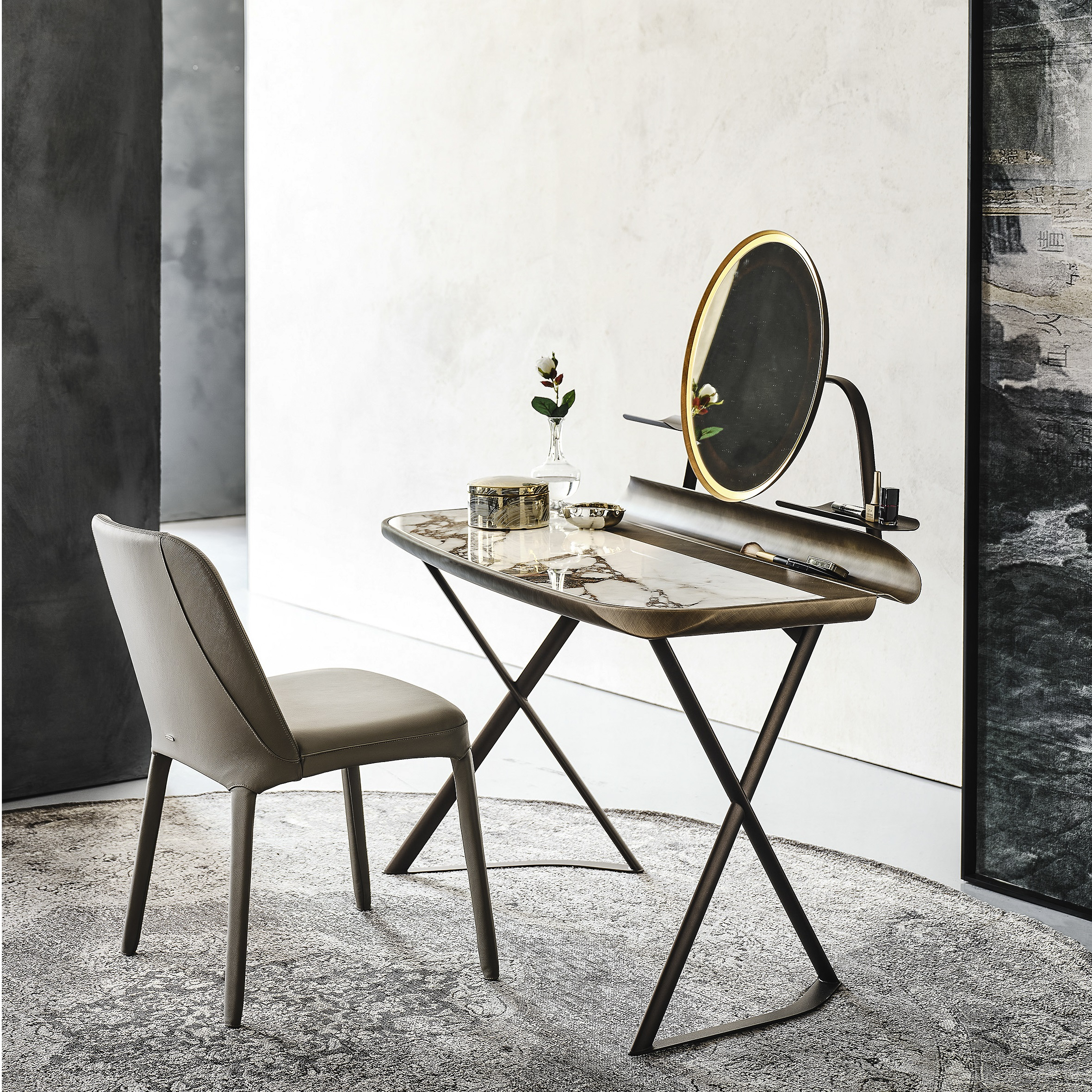 Cocoon dressing table