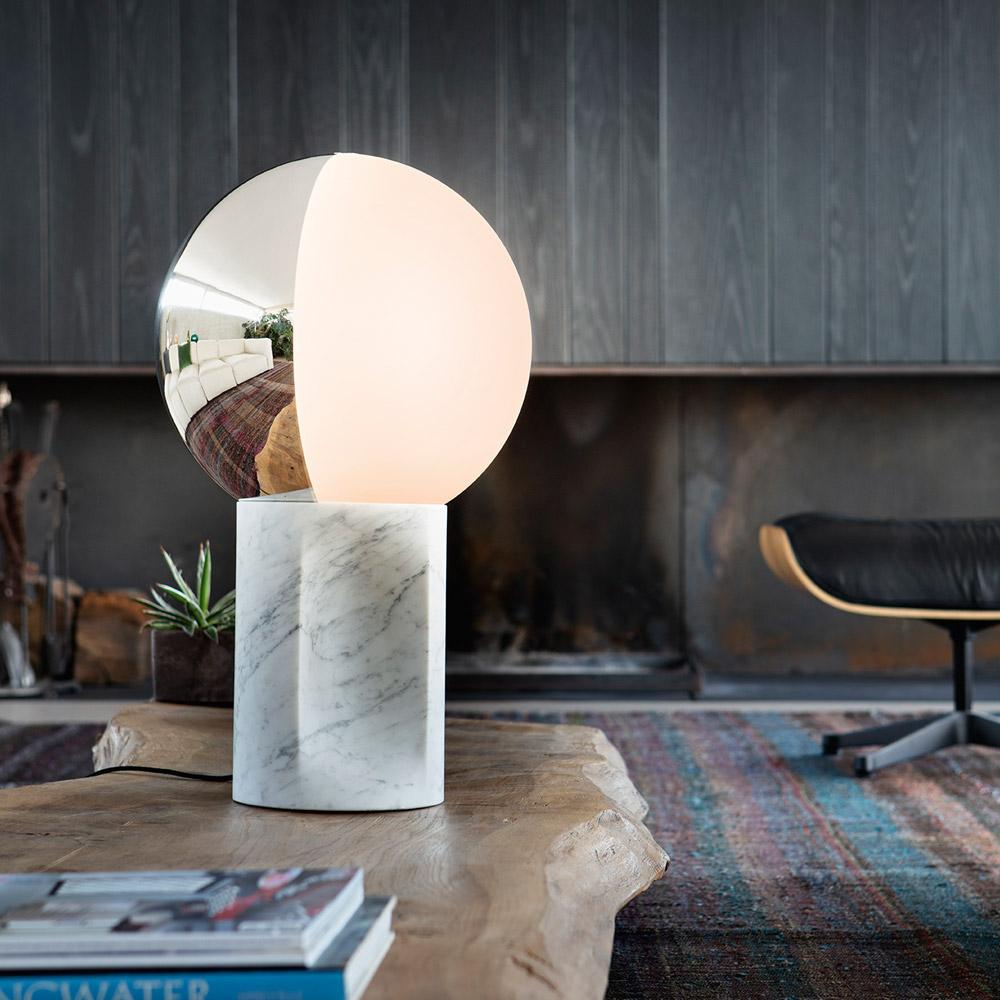 Carrara Marble Table Lamp