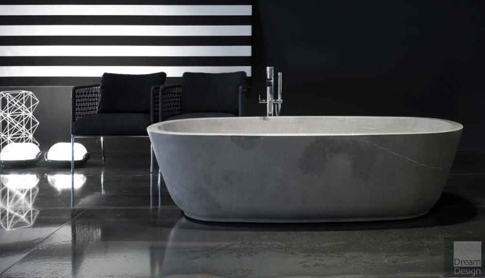 Antonio Lupi Baia Pietra Bath