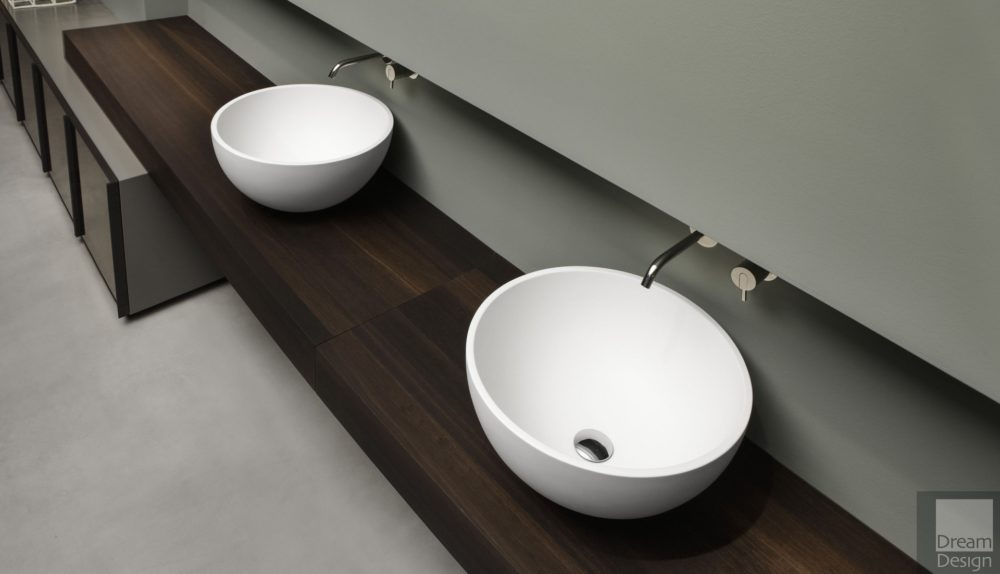 Antonio Lupi Urna Cristallant Basin Ex-Display (Two Available)