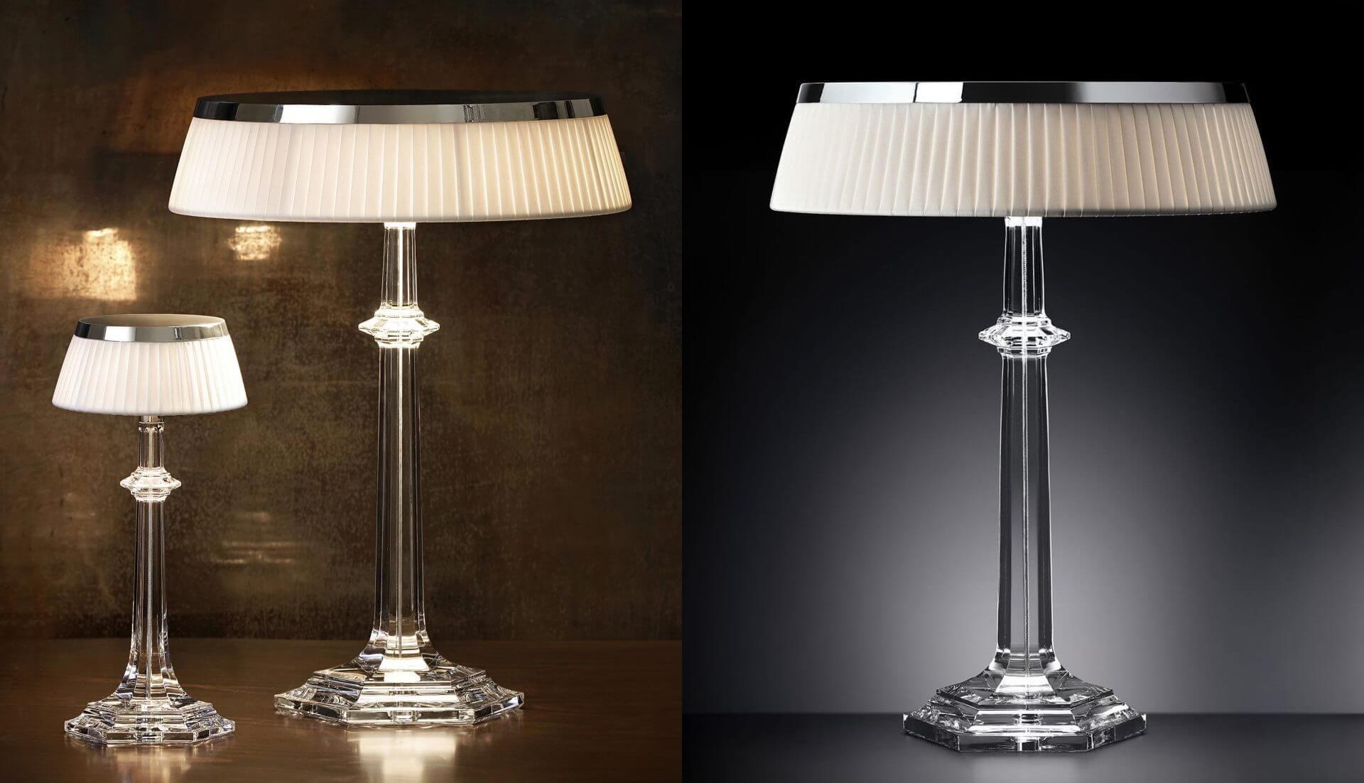 Baccarat Bon Jour Versailles Table Lamp