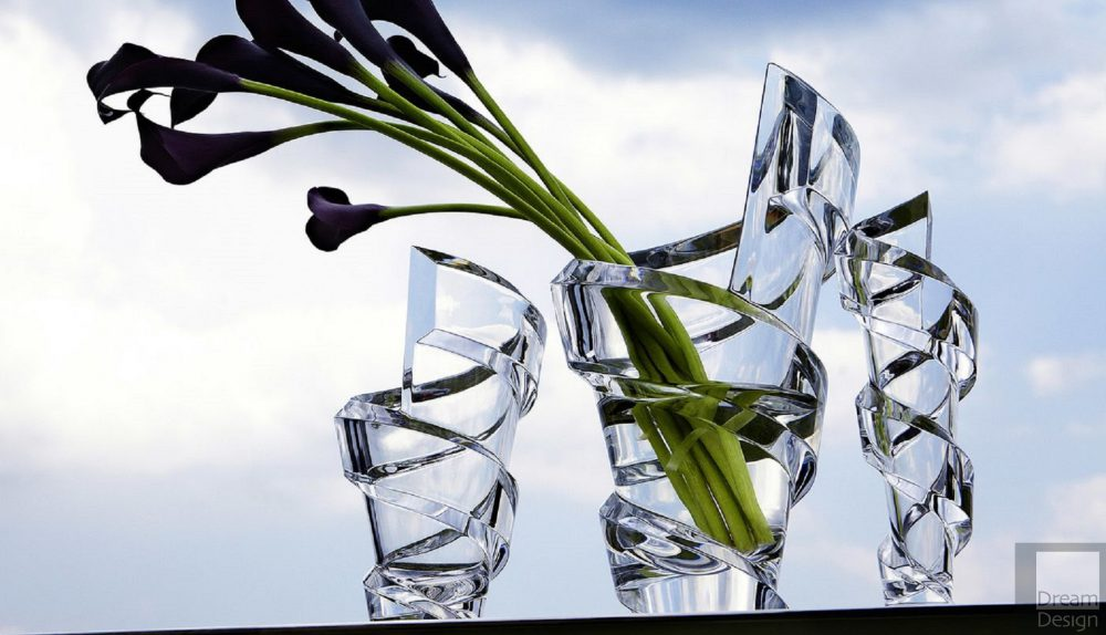 Baccarat Spirale Vase