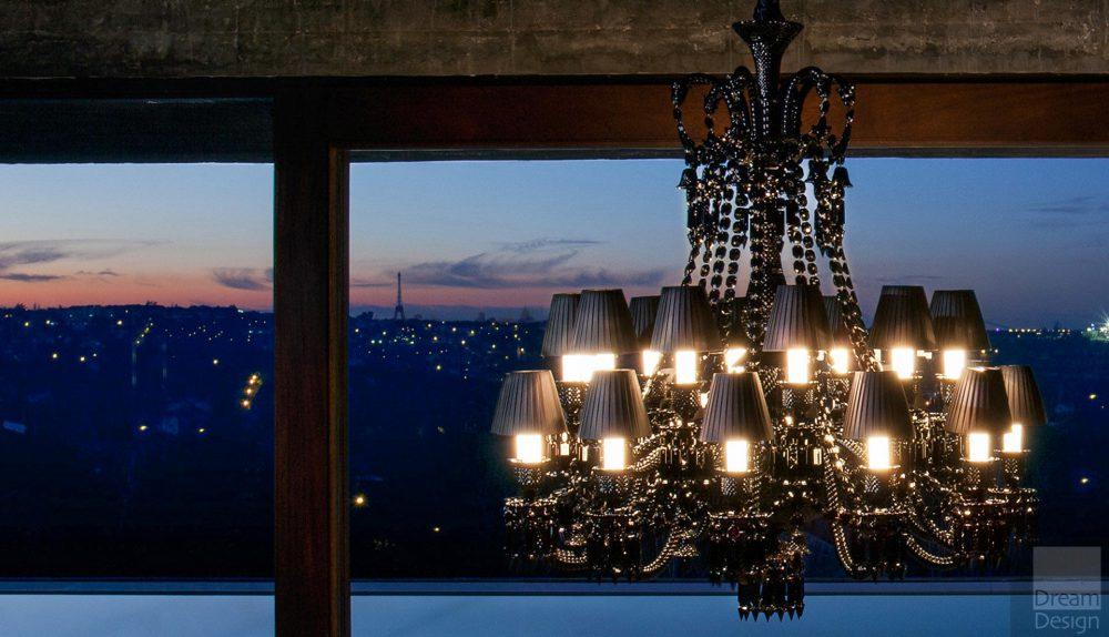Baccarat Zenith Noir Chandelier (24 lights)