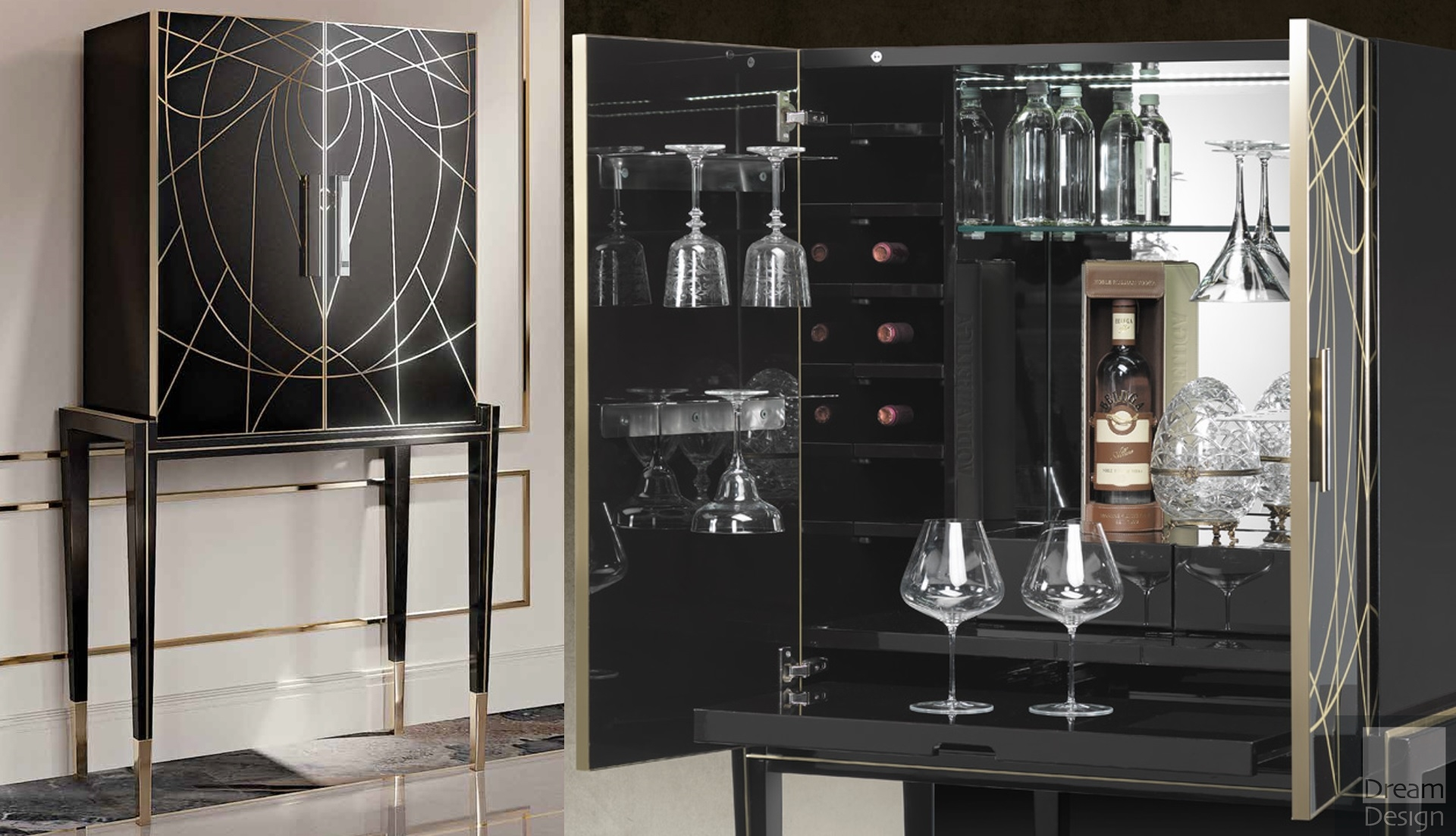 Reflex Angelo Belle Epoque Bar Cabinet Dream Design