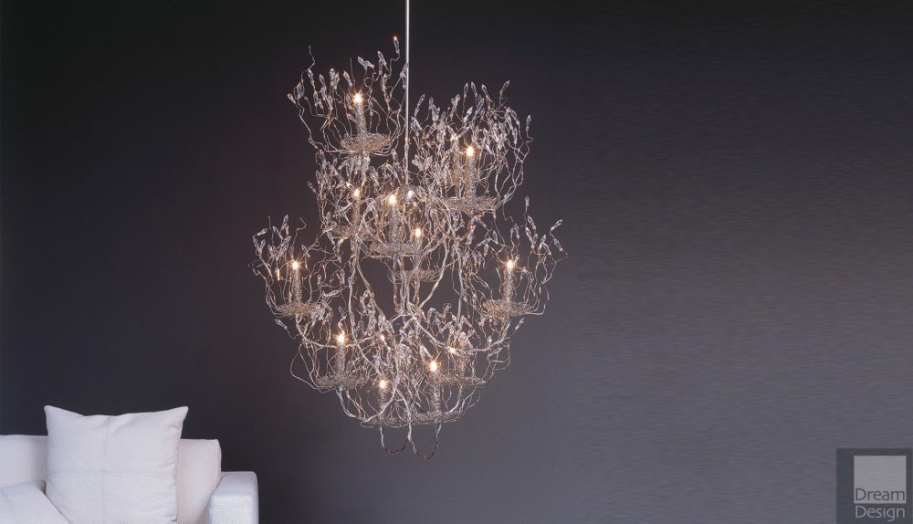 Brand Van Egmond Candles and Spirits Round Chandelier