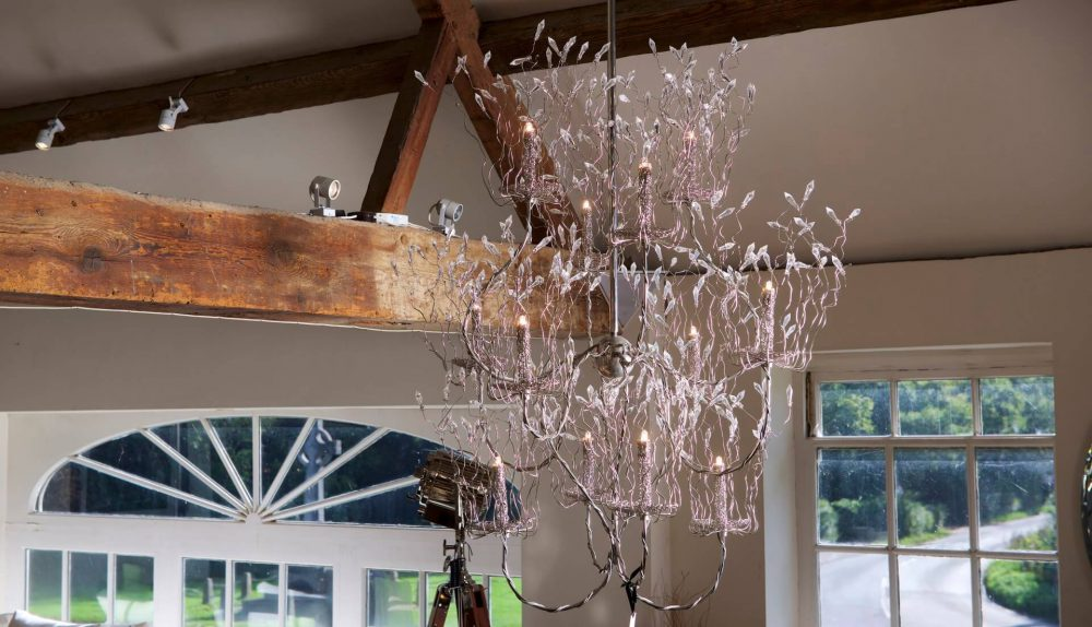 Brand Van Egmond Candles and Spirits Chandelier Ex-Display