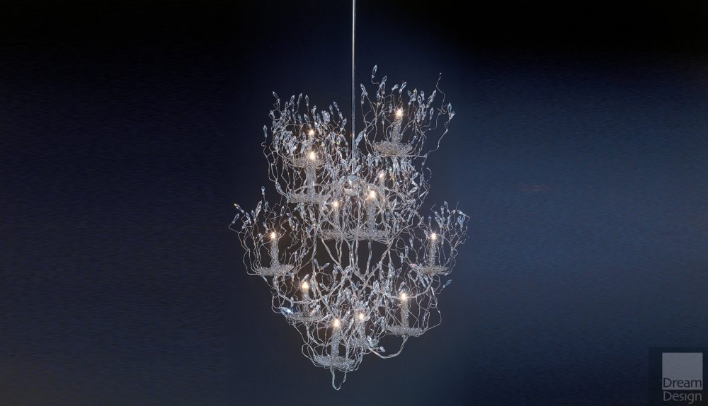 Brand Van Egmond Candles and Spirits Chandelier Ex-Display