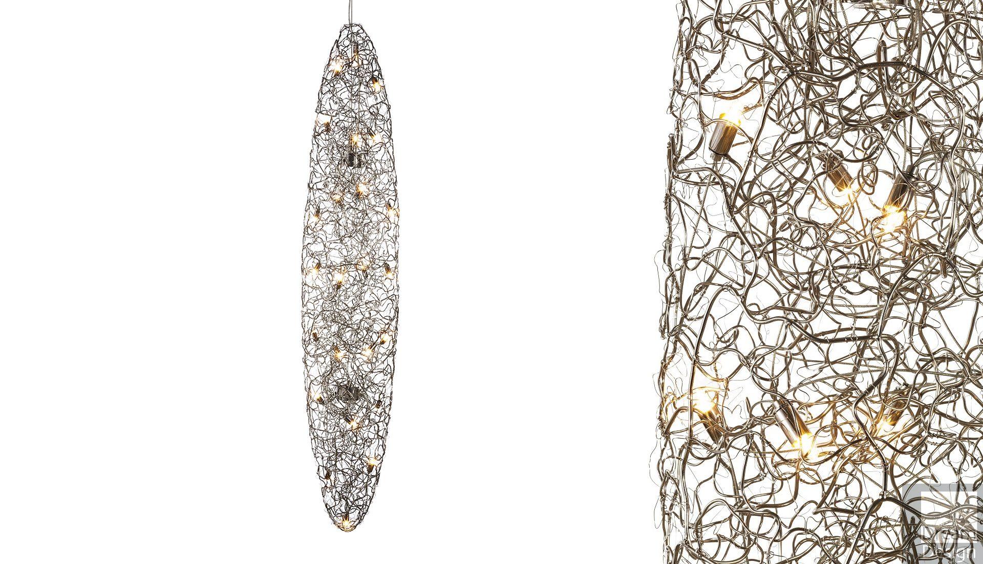 Brand Van Egmond Crystal Waters Drop Light