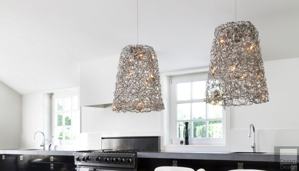 Brand Van Egmond Crystal Waters Hanging Lamp Shade