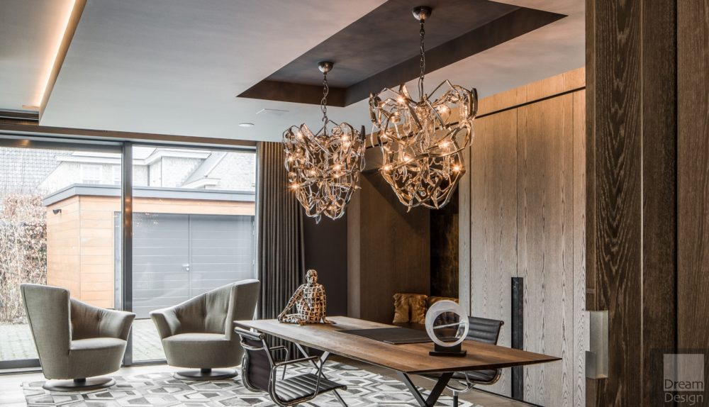 Brand Van Egmond Delphinium Conical Chandelier