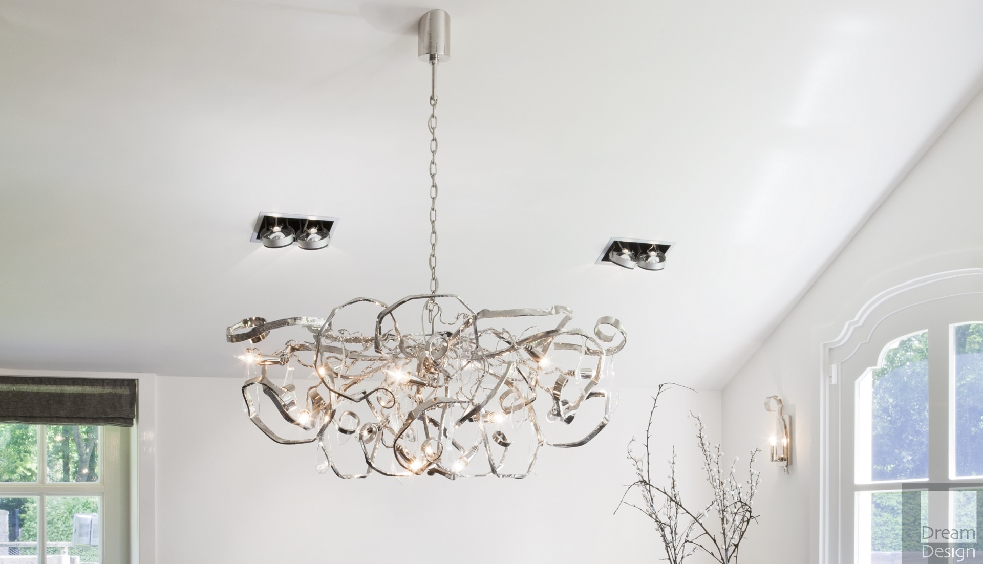 Brand Van Egmond Delphinium Oval Chandelier - Dream Design ...