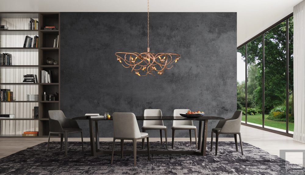Brand Van Egmond Eve Oval Chandelier