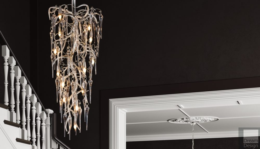 Brand Van Egmond Eve Icicles Chandelier