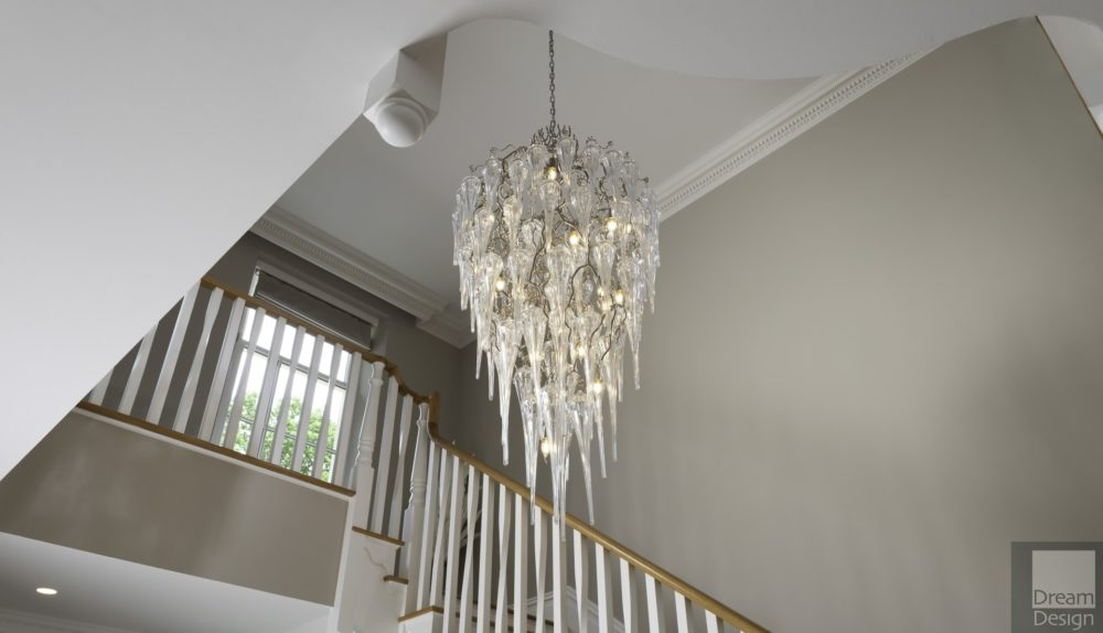 Brand Van Egmond Hollywood Glass Chandelier