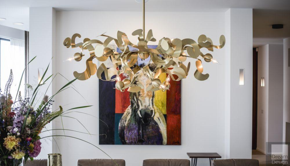 Brand Van Egmond Kelp Oval Chandelier