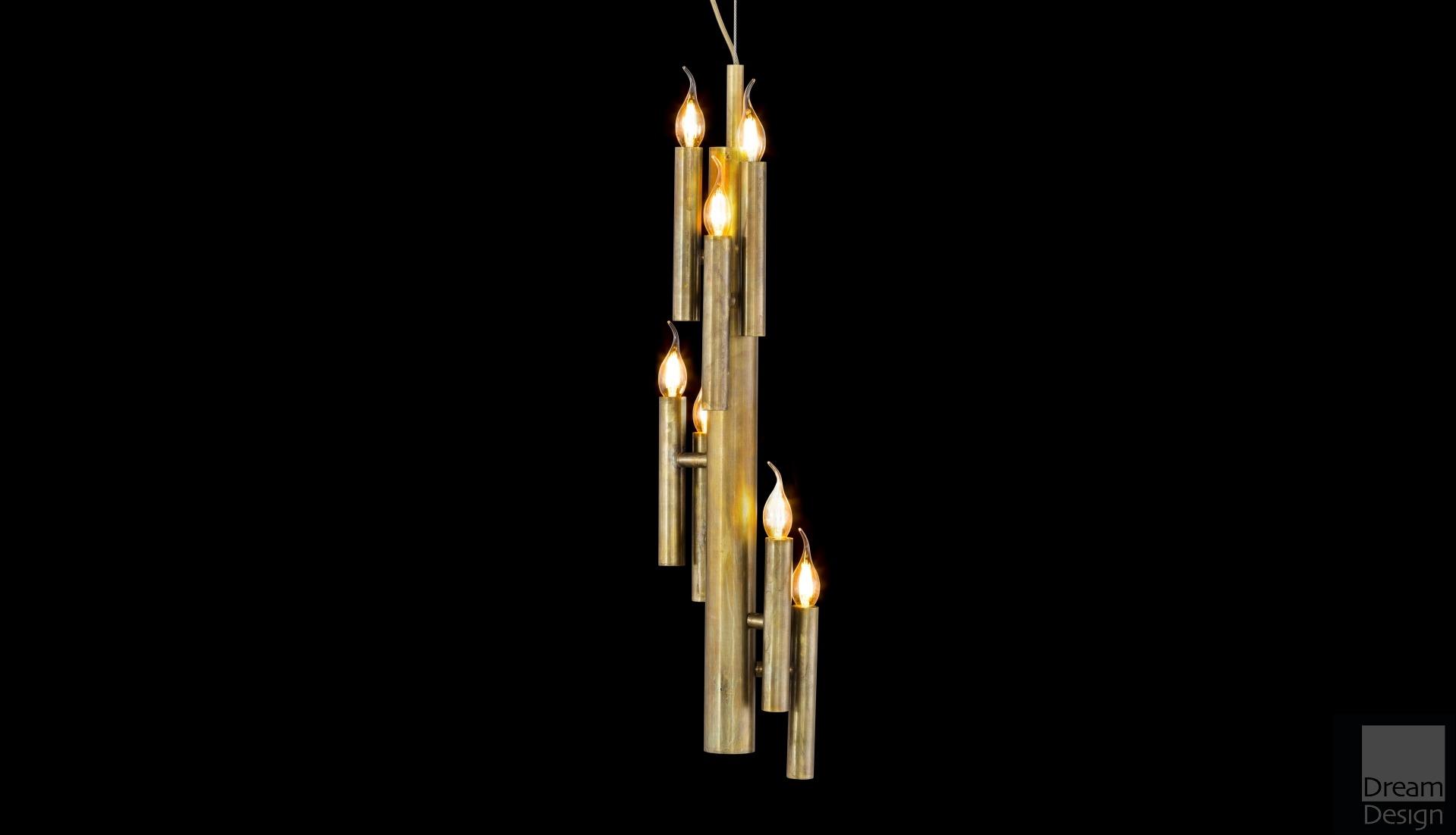 Shiro Ceiling Light Homebase : Brand van egmond shiro vertical light dream design