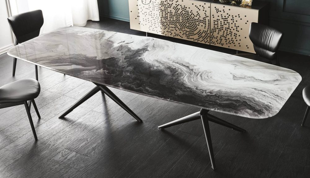 Cattelan Italia Atlantis Crystalart Table