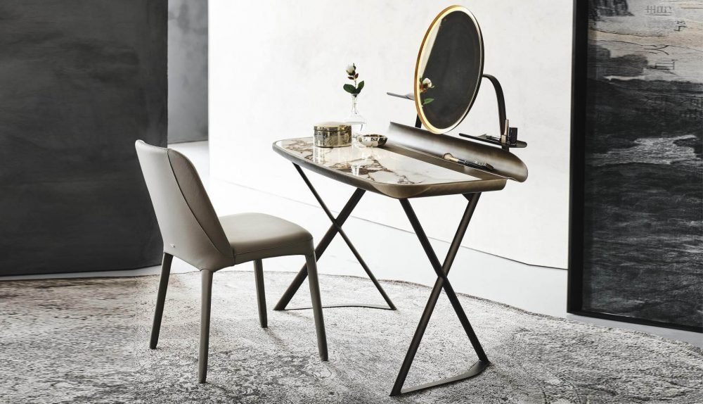 Cattelan Italia Cocoon Trousse Keramik Dressing Table
