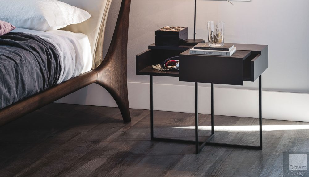 Cattelan Italia Dante Bedside Table