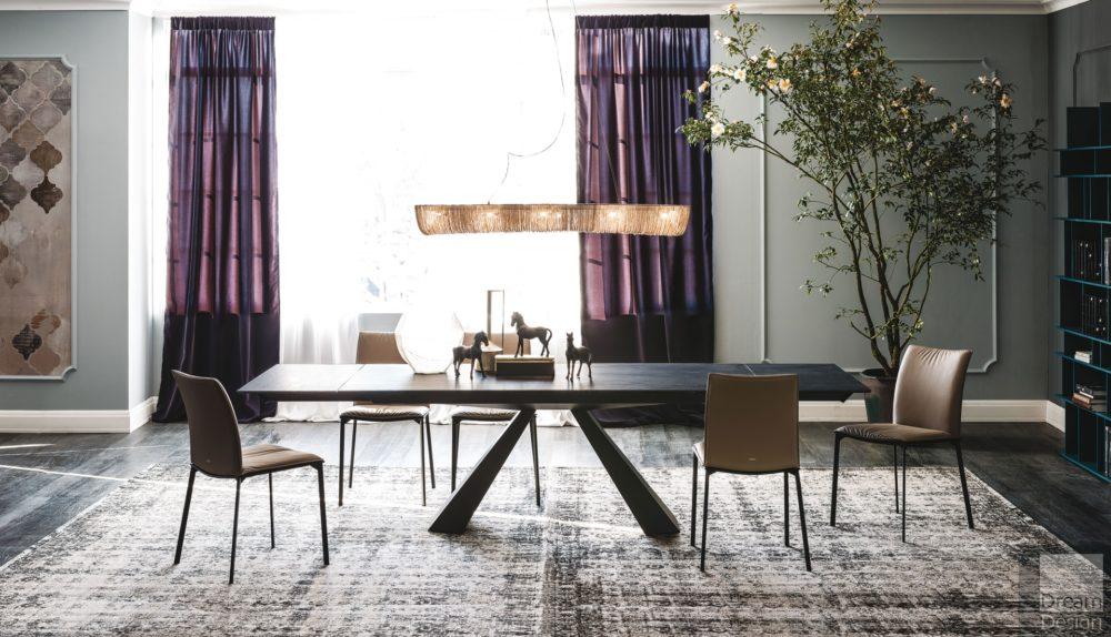 Cattelan Italia Eliot Keramik Drive Extendable Table
