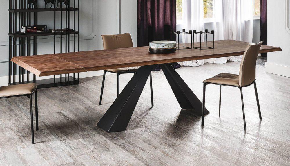 Cattelan Italia Eliot Wood Drive Extendable Table