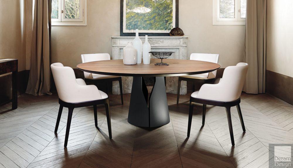 Cattelan Italia Giano Round Table
