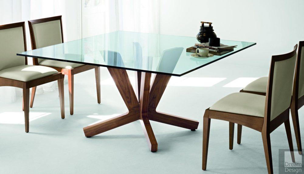 Cattelan Italia Goblin Glass Square Table
