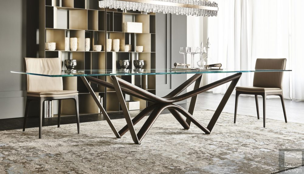 Cattelan Italia Marathon Glass Table