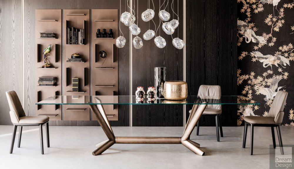 Cattelan Italia Planer Glass Table