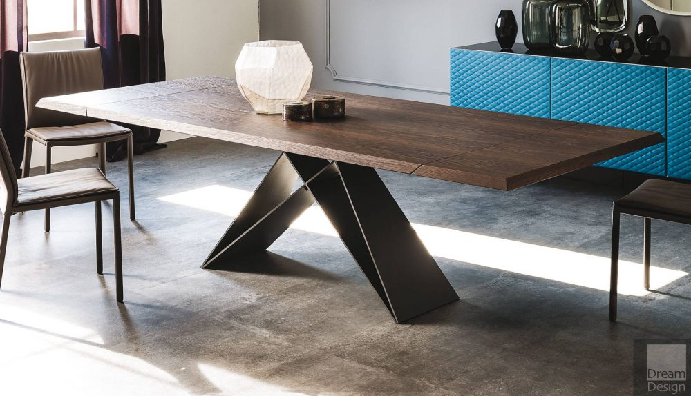 Cattelan Italia Premier Wood Drive Extendable Table