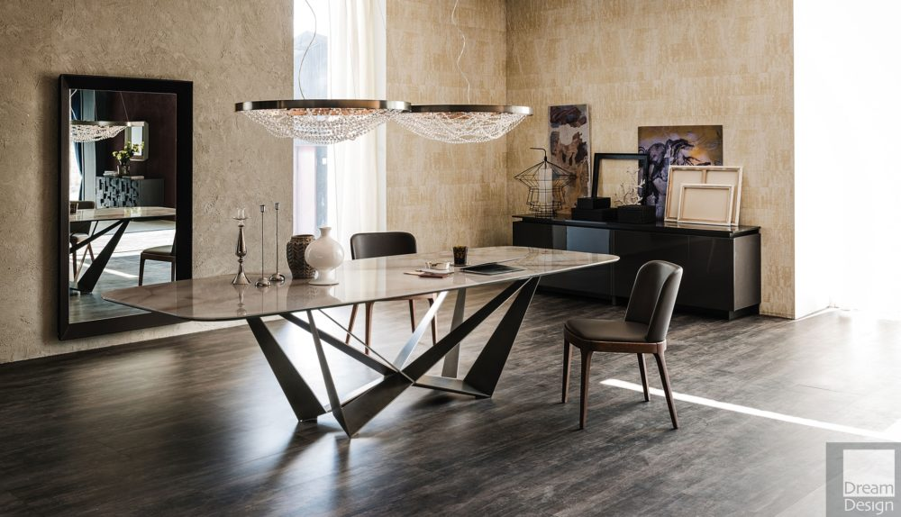 Cattelan Italia Skorpio Keramik Table