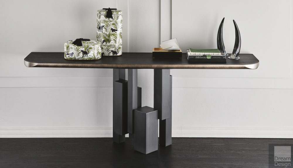 Cattelan Italia Skyline Wood-C Console Table