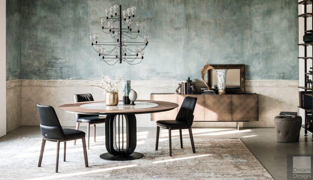 Cattelan Italia Soho Ker-Wood Round Table