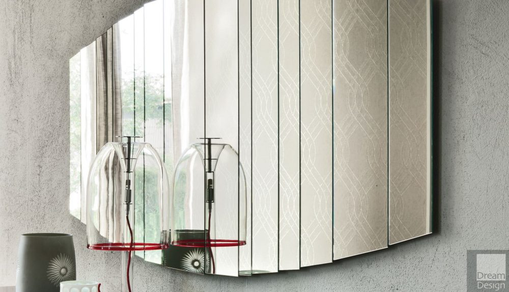 Cattelan Italia Stripes Rectangular Wall Mirror