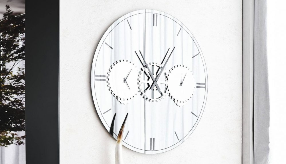 Cattelan Italia Times Mirror Clock