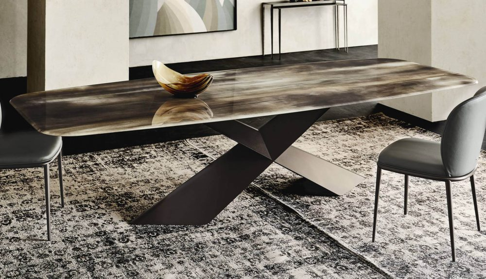 Cattelan Italia Tyron Crystalart Table