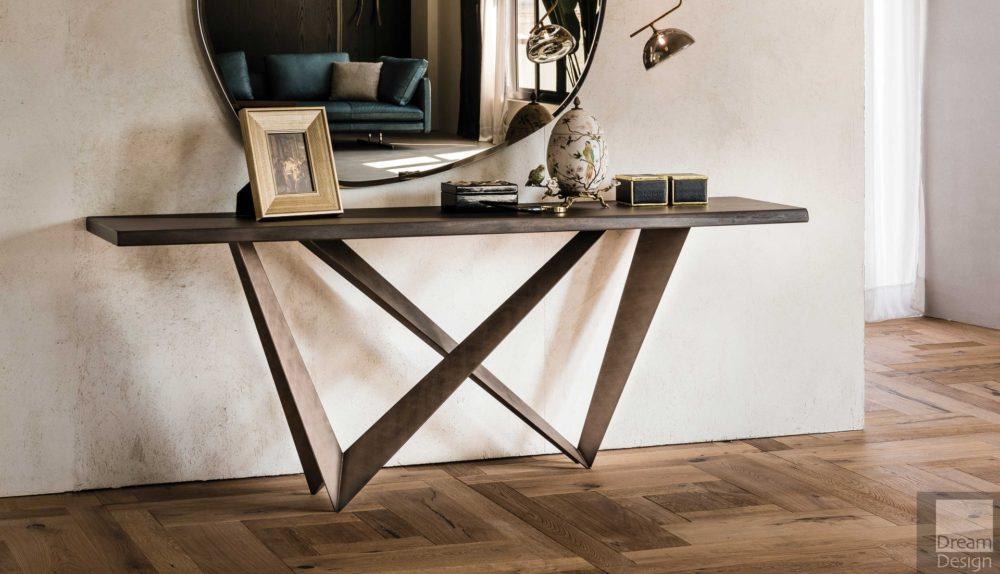 Cattelan Italia Westin Wood Console Table