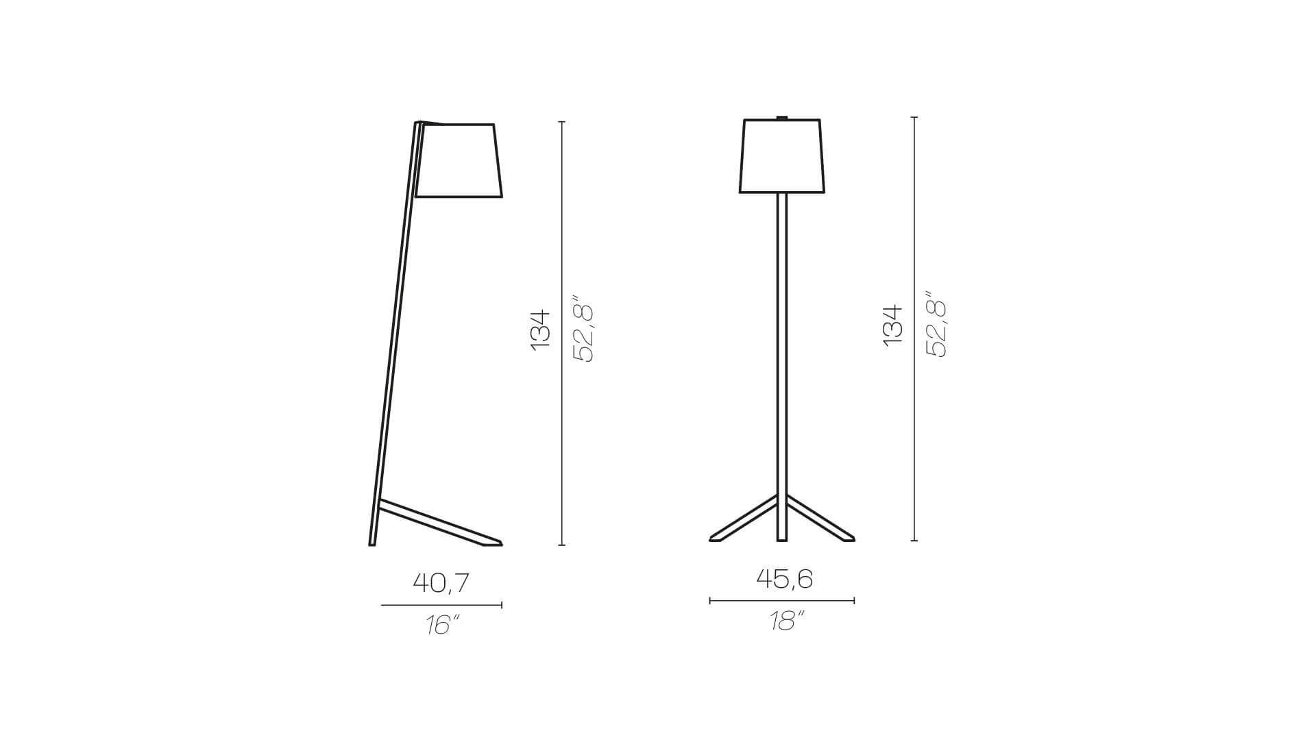Contardi Couture Floor Lamp
