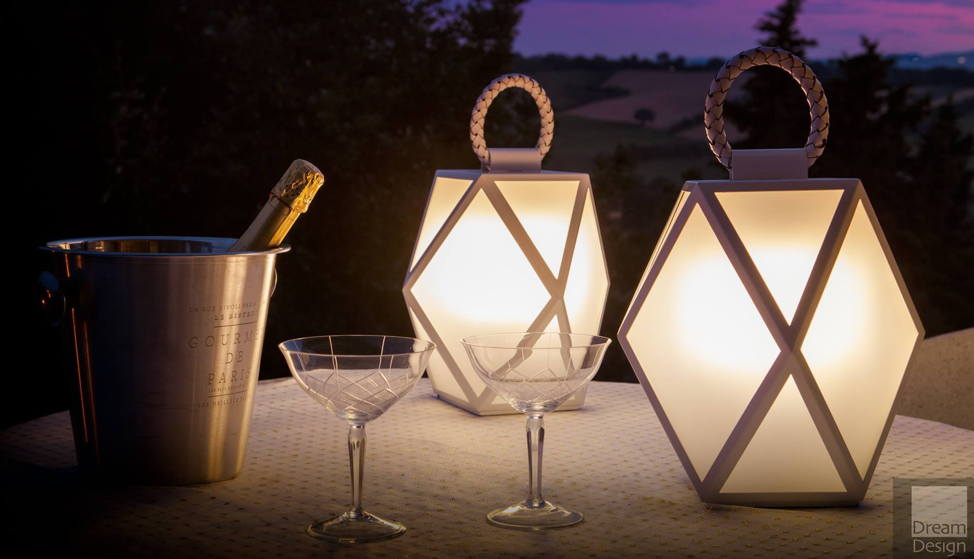 Contardi Muse Outdoor Lantern