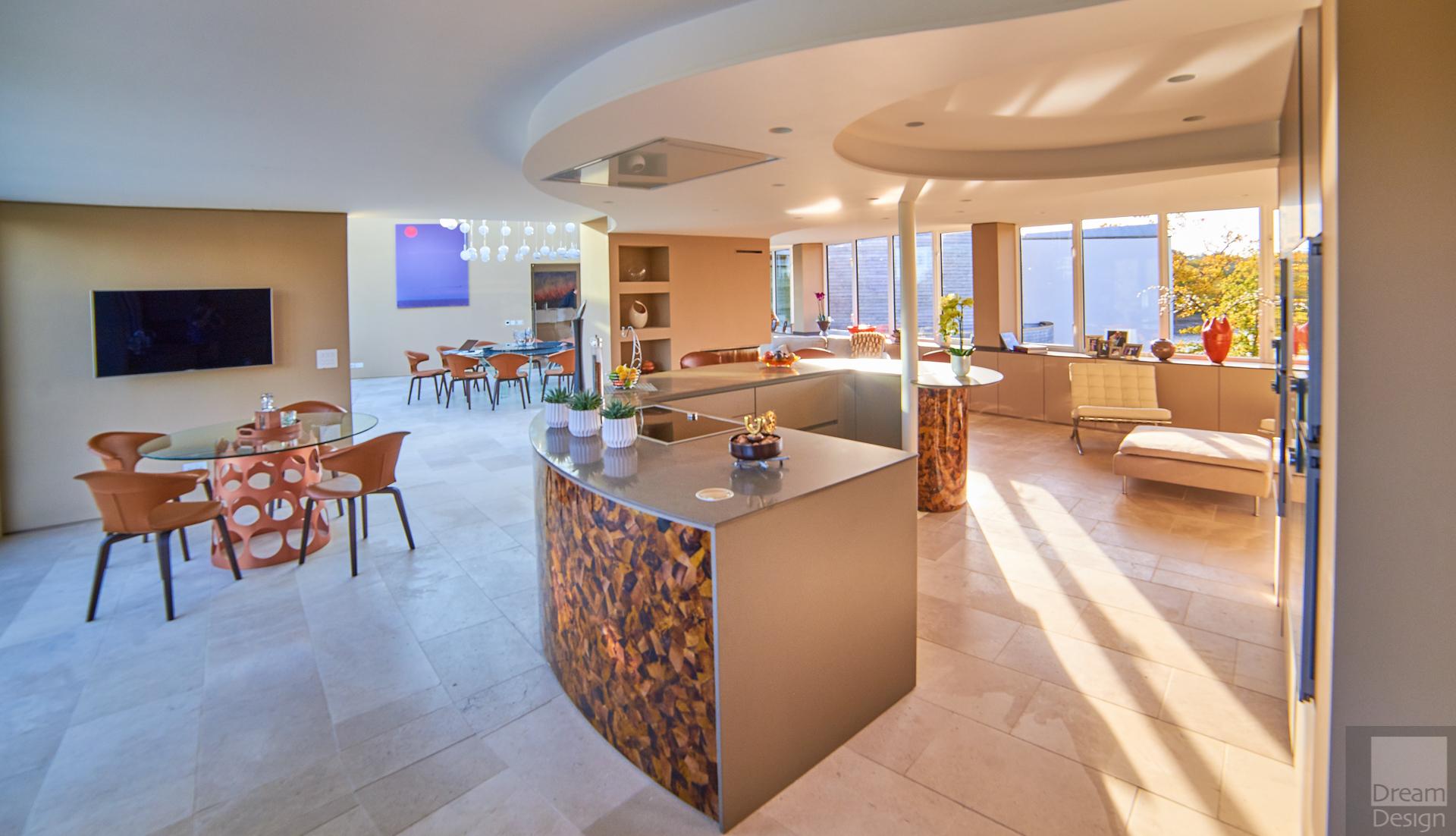 Andrew James Contemporary Riverside Home Dream Design