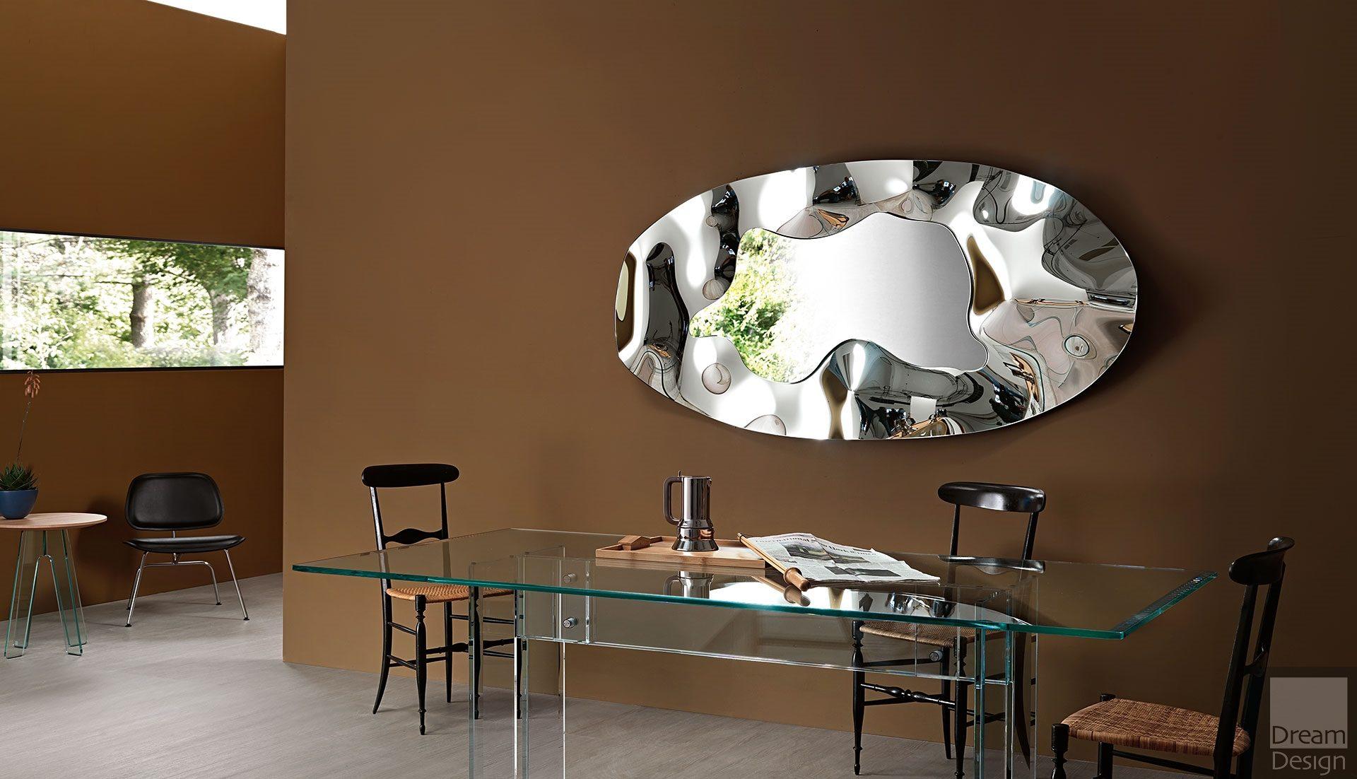 Fiam Phantom Oval Mirror