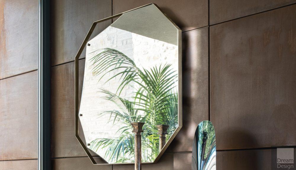 Fiam Pinch Octogonal Mirror