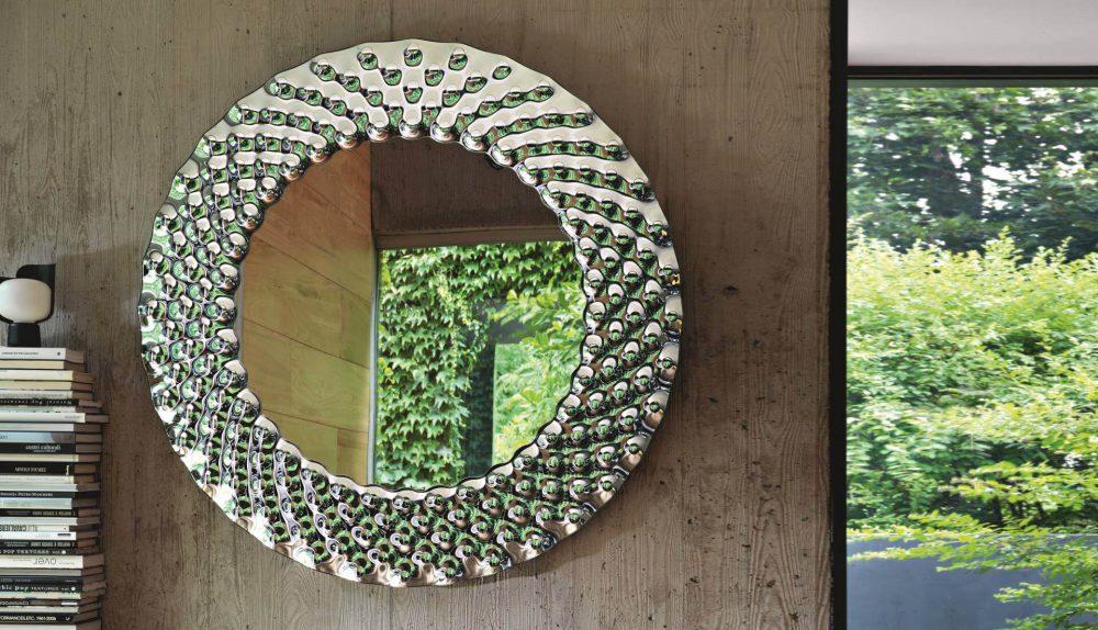 Fiam Pop Round Mirror