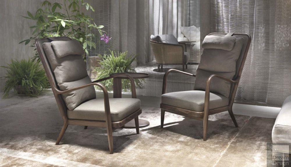 Flexform Agave Armchair