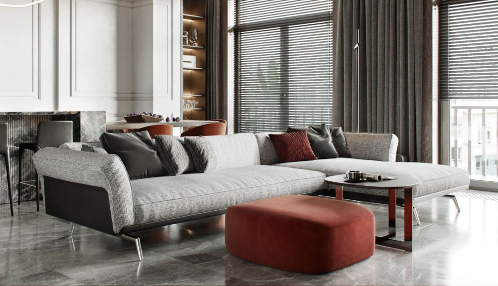 Flexform Este Modular Sofa