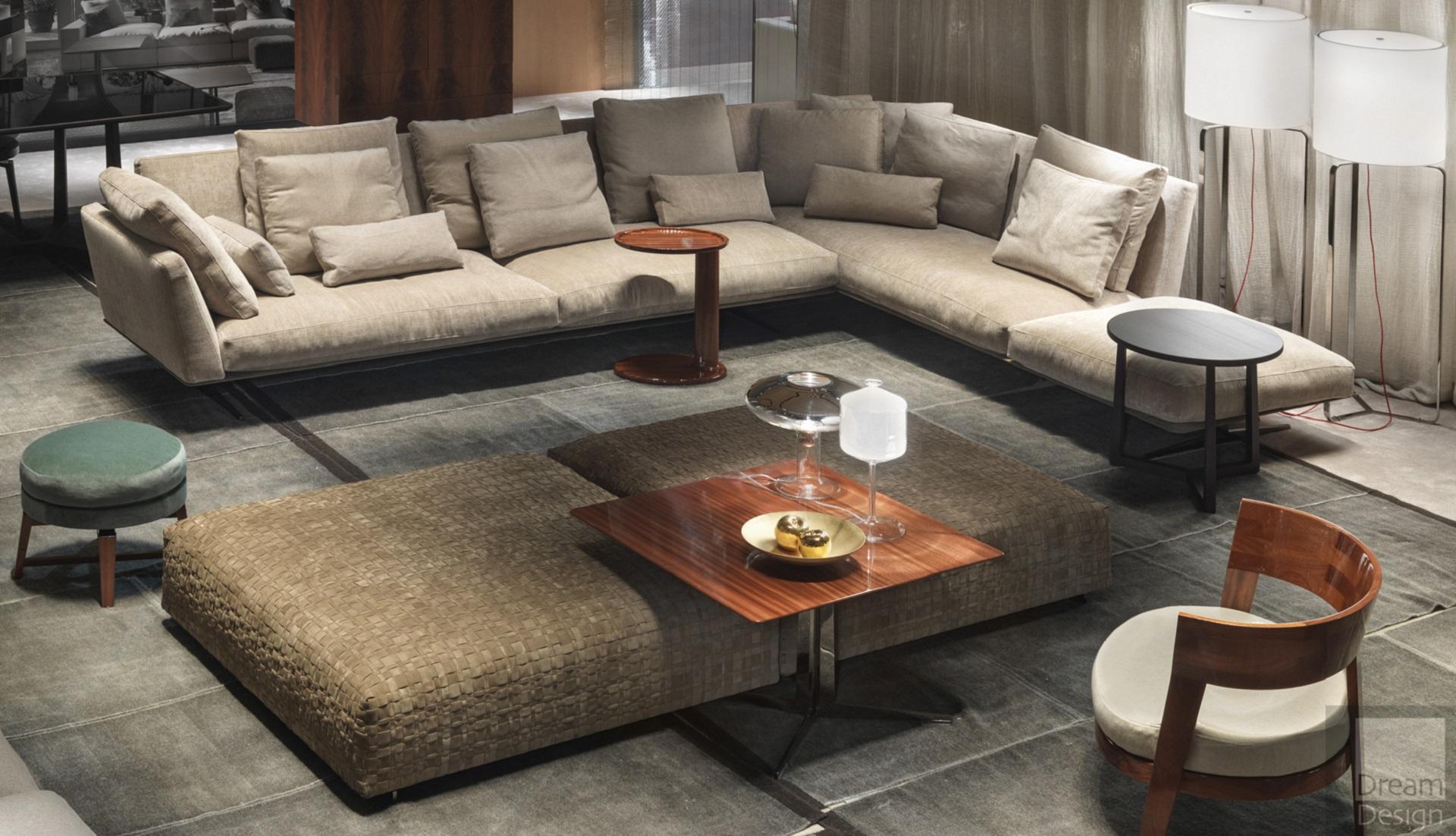 Flexform Evergreen Modular Sofa - Dream Design Interiors Ltd
