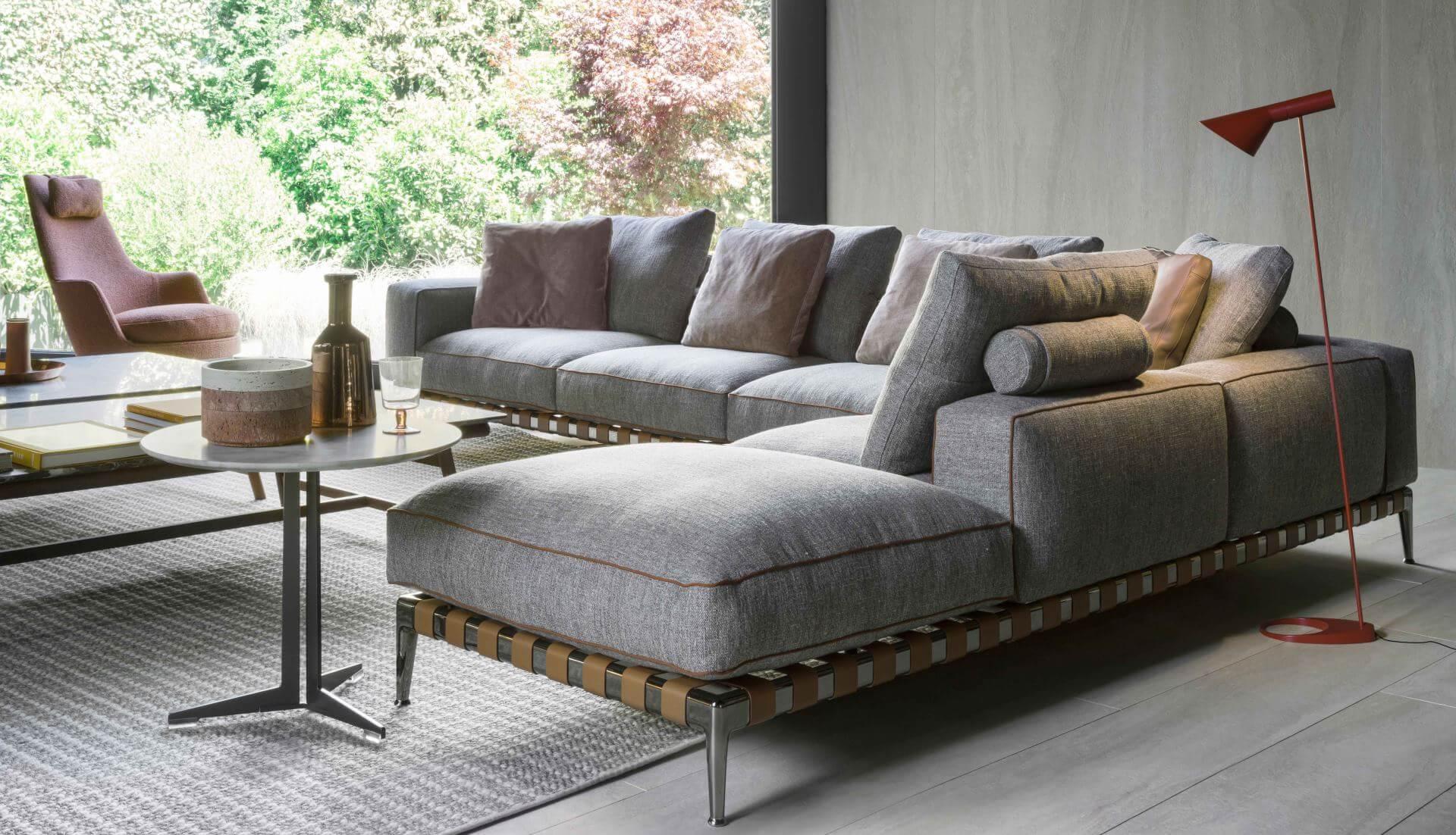 Flexform Gregory Modular Sofa - Dream Design Interiors Ltd