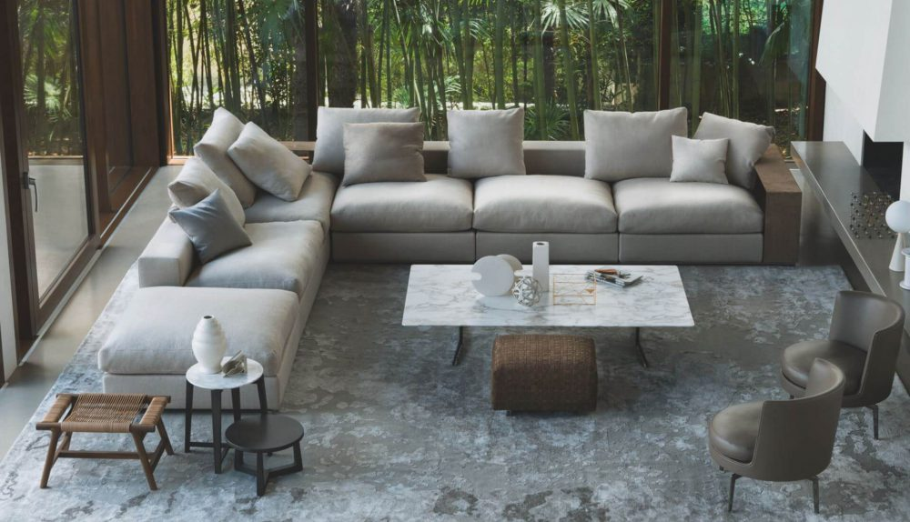 Flexform Groundpiece Modular Sofa